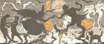 halloween children s books vintage children u0027s book illustration my book house through