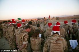 what christmas truce carol service for our troops on the afghan