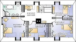 4 bedroom open floor plans house plan w2554 detail from drummondhouseplans com