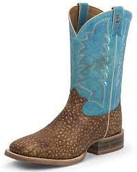 womens size 11 square toe cowboy boots tony lama s 3r 11 square toe cowboy boot brown blue