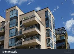 Modern Apartment by Modern Apartment House Stock Photo 112170587 Shutterstock