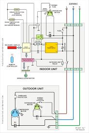 hvac floor plan wiring diagram of split a c wiring diagram schemes