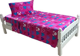 Minnie Mouse Bed Frame Minnie Mouse Bed Sheet Set Exploding Hearts Bow Tique Bedding