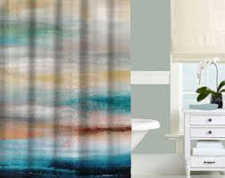 Blue And Yellow Shower Curtains Blue And Yellow Shower Curtain Floral Shower Curtain Gray