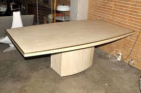 jean charles travertine dining table at 1stdibs