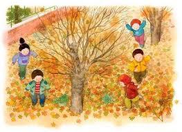 imagenes animadas de otoño bienvenido otoño recursos para niños burbujitas