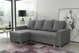sofa mit schlaffunktion kaufen schlafsofa sofa ecksofa eckcouch hellgrau schlaffunktion