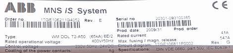 abb wmdolt2a50 electrical