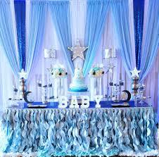 starry night baby shower dessert table baby shower ideas