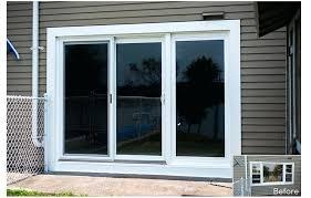5 Foot Sliding Patio Doors Aluminum Sliding Glass Door Blinds Small Home Ideas