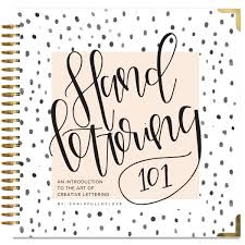 cool ways to write your name on paper hand lettering 101 an introduction to the art of creative hand lettering 101 an introduction to the art of creative lettering chalkfulloflove paige tate select 9781944515652 amazon com books