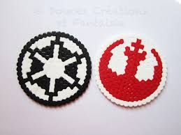 perler bead star wars christmas ornaments google search crafts