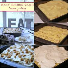 magnolia icebox cake easy icebox cake banana pudding