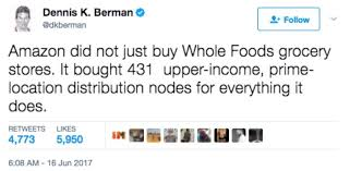 Whole Foods Meme - twitter response to whole foods buyout sfgate