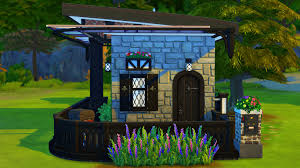 Microhouse The Sims 4 Speedbuild Micro House Youtube