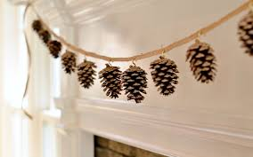 pinecone garland the diy fall decoration redeem your