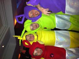 Teletubbie Halloween Costume Teletubbies 4 Pack Costume Deluxe Size Escapade Uk