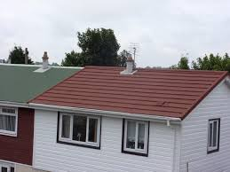 Metal Roof On Houses Pictures by Britmet Profile 49 Lightweight Metal Roof Tile Rustic
