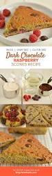 dark chocolate raspberry scones recipe gluten free dairy free