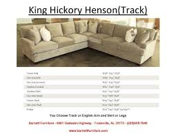king hickory leather sofa furniture most surprising king hickory sectional with custom