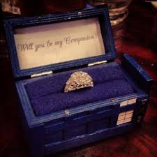 doctor who engagement ring we re engaged how we designed my engagement ring
