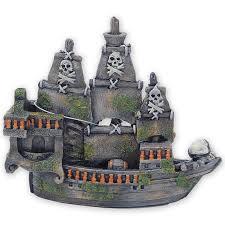 pirate ship skull bones ornament allpondsolutions