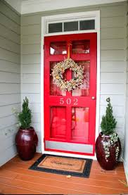 red screen door painting front ideas designs for houses dark paint
