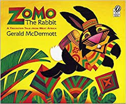 the rabbit book zomo the rabbit a trickster tale from west africa gerald