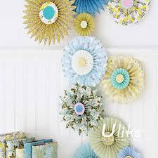 hanging paper fans diy tissue paper hanging pinwheel fan colorful fan hanging paper
