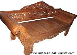 wood furniture rustic furniture from indonesia teak wood daybeds furniture