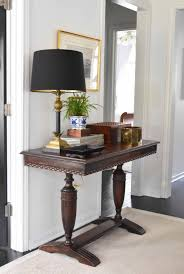 a classic entryway setup for under 100 furniture included