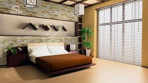 Nature Bedroom by Interior Decoration With Natural Stone Haammss