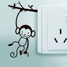 online get cheap wall decal monkey aliexpress com alibaba group