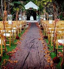 Wedding Aisle Ideas 57 Fall Wedding Aisle Decor Ideas Happywedd Com