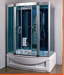 Shower With Bathtub Ariel Ws 905a Steam Shower With Whirlpool Bathtub Amazon Com