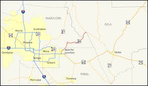 Arizona Maps by Arizona State Route 88 Wikipedia