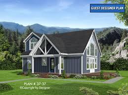 Small Cottage Plan House Plan 37 37 Vtr House Plans By Garrell Associates Inc