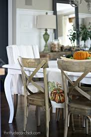 how to paint a kitchen table from thrifty decor