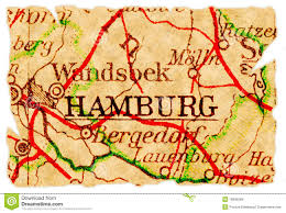 Hamburg Germany Map by Hamburg Old Map Royalty Free Stock Photos Image 16696268