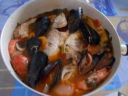 recette de zupetta de poisson et crustaces