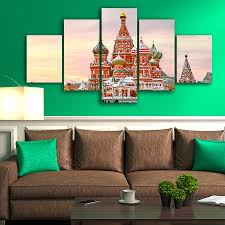 russian home decor canvas wall art pictures framed hd printed poster home decor 5