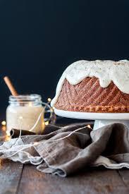 rum u0026 eggnog bundt cake liv for cake