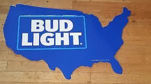 bud light tin signs bud light usa tin sign fast free shipping 28 00 picclick