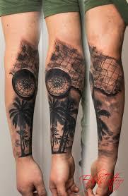 Map Tattoo Download Arm Tattoo Travel Danielhuscroft Com