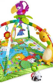 fisher price rainforest music and lights deluxe gym playset top 10 best baby activity mats in 2018 reviews you must know
