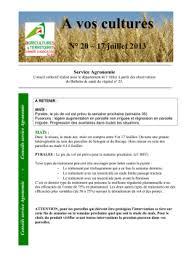 chambre agriculture centre bulletin de santé du végétal chambre d agriculture centre