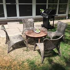 Lowes Garden Treasures Patio Furniture - outfitting the patio with lowe u0027s dadand com dadand com