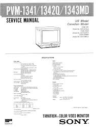 sony pvm 1343md service manual immediate download