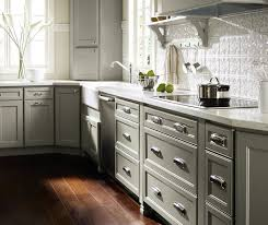 Gray Kitchen Cabinets Homecrest Cabinetry - Colored kitchen cabinets