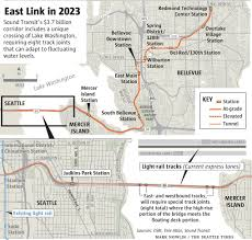 Seattle Light Rail Map Future by Extra 20 Million Ok U0027d To Finish East Link Light Rail Design The